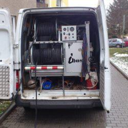 Čištění tlakovou vodou - tlakové zařízení Hydromax I. pro potrubí DN 75-300mm