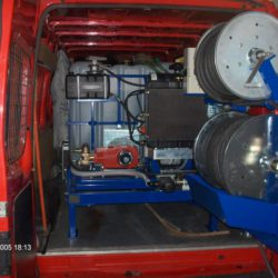 Čištění tlakovou vodou - tlakové zařízení Hydromax II. pro potrubí DN 75-400mm