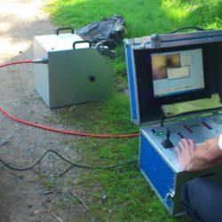 Kamerový průzkum kanalizace - sledovací zařízení